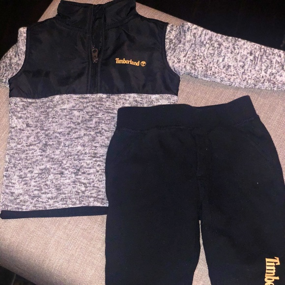 Timberland Sweat Suit - excellent condition 18mo